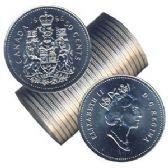 50-CENT -  1996 50-CENT ORIGINAL ROLL -  1996 CANADIAN COINS
