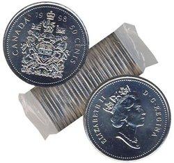 50-CENT -  1998 50-CENT ORIGINAL ROLL -  1998 CANADIAN COINS