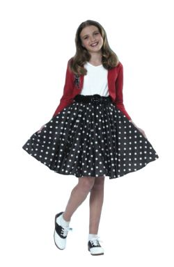 50'S -  POLKA DOT ROCKER COSTUME (CHILD)