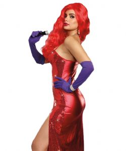 50'S -  SEXY STARLET COSTUME (ADULT)