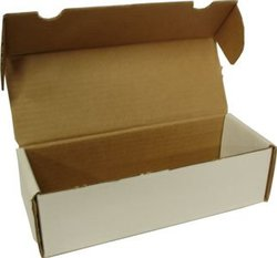 500 COUNT CARDBOARD BOX (10.5 INCHES)