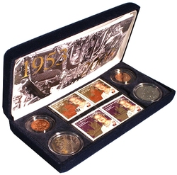 50TH ANNIVERSARY OF HER MAJESTY QUEEN ELIZABETH II'S CORONATION -  2003 CANADIAN COINS