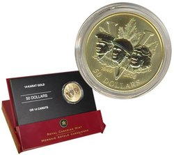 60TH ANNIVERSARY OF THE END OF WORLD WAR II -  2005 CANADIAN COINS