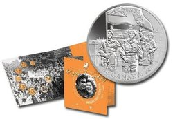 60TH ANNIVERSARY OF THE LIBERATION OF THE NETHERLANDS -  2005 CANADIAN COINS