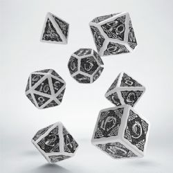 7 DICE, CELTIC, BLACK AND WHITE