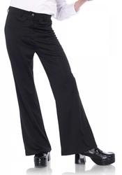 70' -  DISCO PANTS - BELL BOTTOM - BLACK