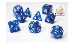 8 DICE TUBE, PEARL BLUE