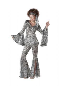 80'S -  FOXY LADY COSTUME (ADULT)