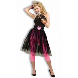80'S -  POP STAR SKIRT (ADULT - ONE SIZE)