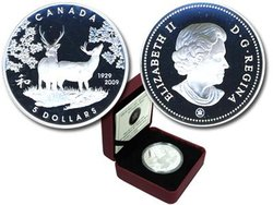 80TH ANNIVERSARY OF CANADA IN JAPAN -  2009 CANADIAN COINS