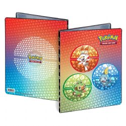 9-POCKET PORTFOLIO -  10 PAGES - 180 - SWORD AND SHIELD - STARTER SWORD AND SHIELD -  POKEMON