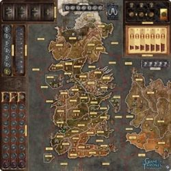 A GAME OF THRONES : THE BOARD GAME -  MOTHER OF DRAGONS DELUXE PLAYMAT (ENGLISH)