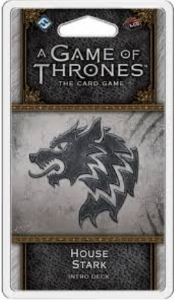 A GAME OF THRONES : THE CARD GAME -  HOUSE STARK (ENGLISH)