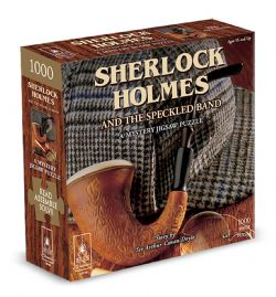 A MYSTERY JIGSAW PUZZLE -  SHERLOCK HOLMES AND THE SPECKLED (1000 PIECES)