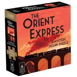 A MYSTERY JIGSAW PUZZLE -  THE ORIENT EXPRESS (1000 PIECES)
