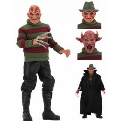 A NIGHTMARE ON ELM STREET -  FREDDY KRUEGER ACTION FIGURE WITH ACCESSORIES (8 INCH) -  NEW NIGHTMARE