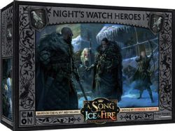 A SONG OF ICE AND FIRE -  NIGHT'S WATCH HEROES 1 (ENGLISH)