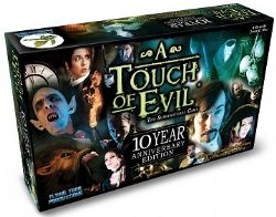 A TOUCH OF EVIL -  BASE GAME (ENGLISH) -  10TH ANNIVERSARY EDITION