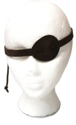 ACCESSORIES -  EYE PATCH - BROWN