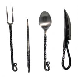 ACCESSORIES -  MEDIEVAL STAINLESS STEEL UTENSIL SET