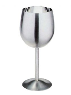 ACCESSORIES -  STAINLESS STEEL WINE GOBLET