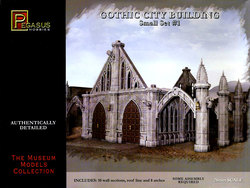ACCESSORY -  GOTHIC CITY BUILDING - SMALL SET #1