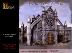 ACCESSORY -  GOTHIC CITY BUILDING - SMALL SET #2