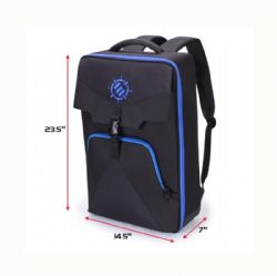 ACCESSORY POWER ENHANCE -  GAMING BACKPACK - BLACK AND BLUE