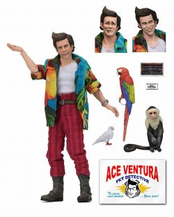 ACE VENTURA -  ACTION FIGURE WITH ACCESSORIES (8