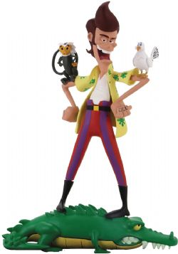 ACE VENTURA -  FIGURE WITH ANIMALS AND ACCESSORIES -  TOONY CLASSICS