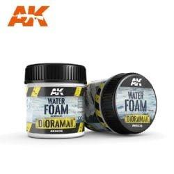 ACRYLIC DIORAMA -  WATER FOAM (3 OZ) -  AK INTERACTIVE