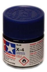 ACRYLIC PAINT -  BLUE (1/3 OZ) X-4
