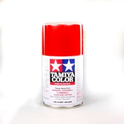ACRYLIC PAINT -  BRIGHT MICA RED LACQUER (100 ML) -  SPRAY PAINT TS-85