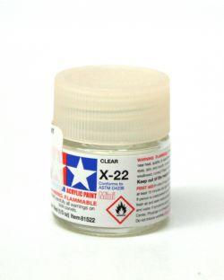 ACRYLIC PAINT -  CLEAR ACRYLIC (1/3 OZ) X-22