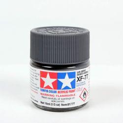 ACRYLIC PAINT -  FLAT IJN GRAY (SASEBO ARSENAL) (1/3 OZ) XF-77