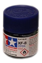 ACRYLIC PAINT -  FLAT INSIGNIA BLUE (1/3 OZ) XF-8