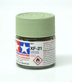 ACRYLIC PAINT -  FLAT SKY (1/3 OZ) XF-21