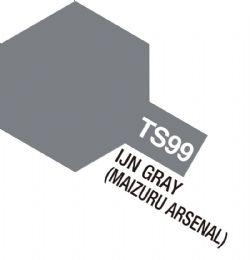 ACRYLIC PAINT -  IJIN GRAY (MAIZURU ARSENAL) (100 ML) -  SPRAY PAINT TS-99