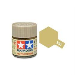ACRYLIC PAINT -  TITANIUM GOLD (1/3 OZ) X-31