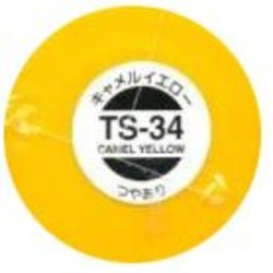 ACRYLIC PAINT -  TS-34 CAMEL YELLOW - 100ML (SPRAY PAINT)