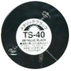 ACRYLIC PAINT -  TS-40 METALLIC BLACK - 100ML (SPRAY PAINT) TS-40