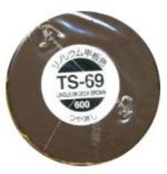 ACRYLIC PAINT -  TS-69 LINOLEUM DECK BROWN - 100ML (SPRAY PAINT) TS-69