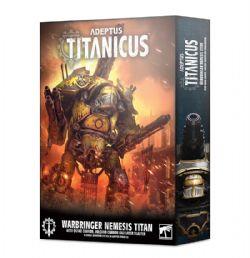 ADEPTUS TITANICUS -  WARBRINGER NEMESIS TITAN W/ QUAKE CANNON