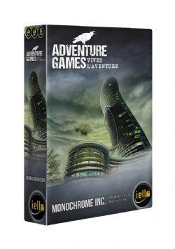 ADVENTURE GAMES -  MONOCHROME INC. (FRENCH)