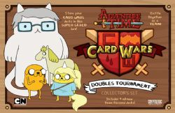 ADVENTURE TIME -  DOUBLES TOURNAMENT : COLLECTOR'S SET (ENGLISH)