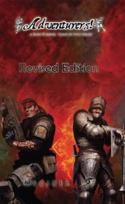 ADVENTURERS! CORE REVISED EDITION - SOFTCOVER (ENGLISH)