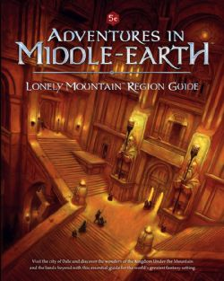 ADVENTURES IN MIDDLE-EARTH -  LONELY MOUNTAIN REGION GUIDE (ENGLISH)