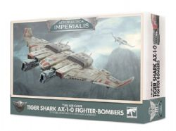 AERONAUTICA IMPERIALIS -  TIGER SHARK AX-1-0 FIGHTER BOMBERS (ENGLISH) -  T'AU AIR CASTE