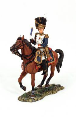 AGE OF NAPOLÉON -  MOUNTED GENERAL DORSENE FIGURE (4