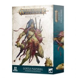 AGE OF SIGMAR : BROKEN REALMS -  GORTLE PULPSKULL – INVIDIAN PLAGUEHOST -  MAGGOTKIN OF NURGLE